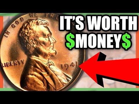 How Much Is A 1941 S, D or P Lincoln Wheat Penny Worth Today?