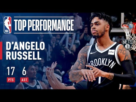 D'Angelo Russell Drops Orlando Magic Defender | 17 points, 8 assists