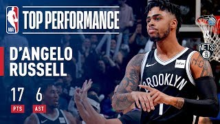 D'Angelo Russell Has Sick Crossover, Leads Nets to Win | 17 points, 8 assists