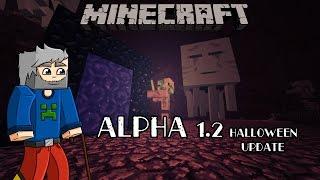Histoire de minecraft #4  Alpha 1.2 - Halloween et les sons !