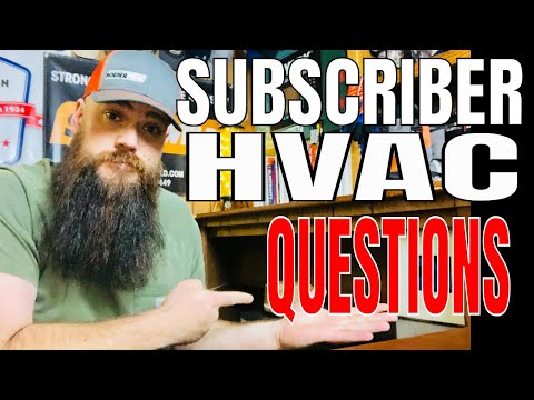 Subscriber HVAC Questions answered (Military, physical demands, and more)