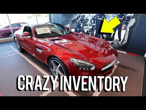 The BIGGEST Mercedes dealership in the USA!?