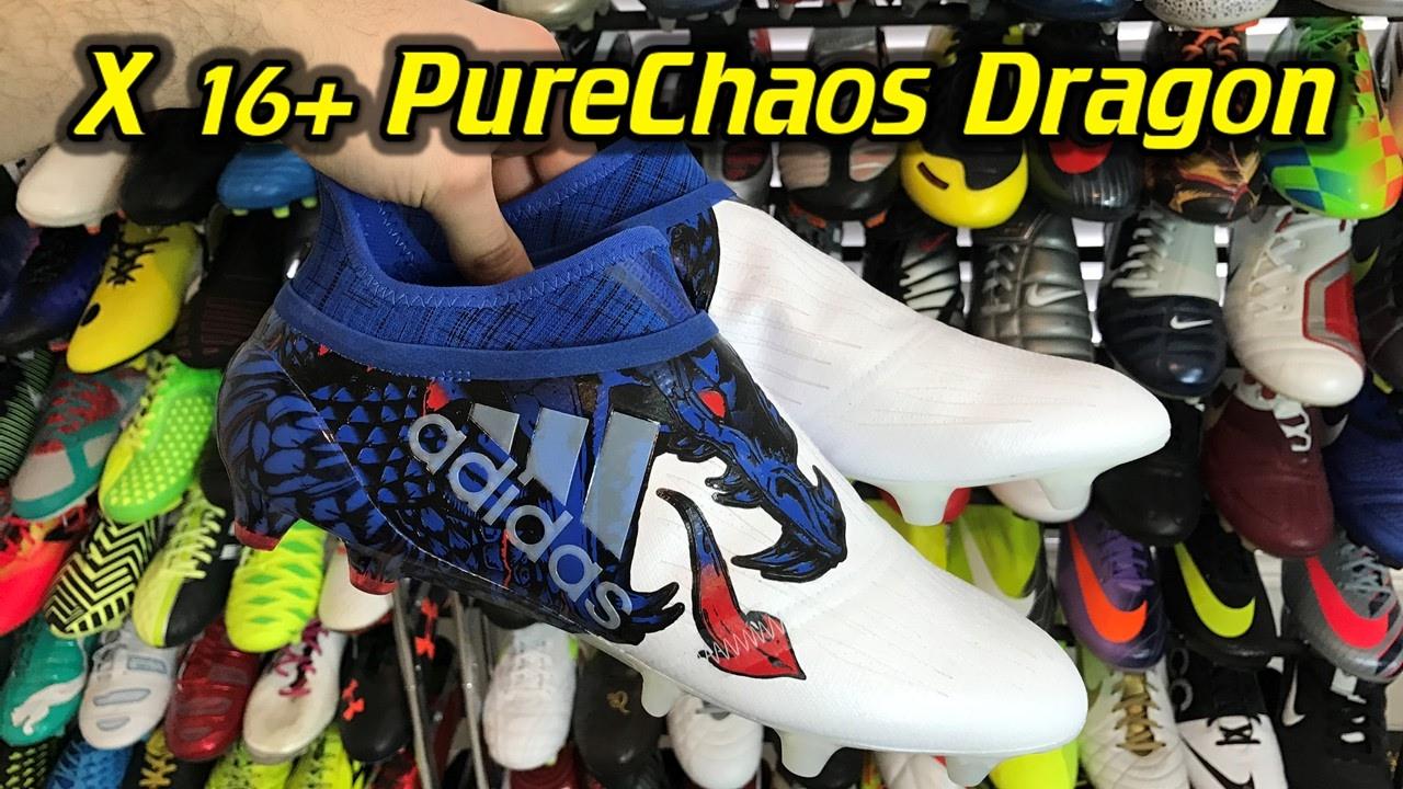 adidas x16   purechaos (ucl drago) una revisione   in piedi su youtube