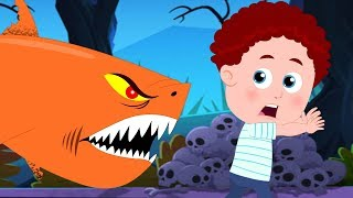 Halloween Baby Shark | Schoolies Kids Songs | Nursery Rhymes for Babies