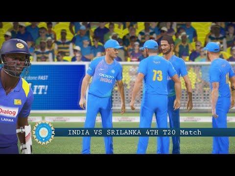 India vs Sri Lanka - 4th T20 Match - Don Bradman Cricket 17