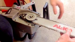 Електропила AL-KO EKS 2400/40 (chain electric saw)