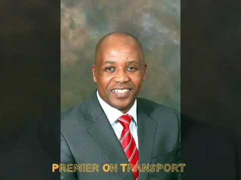 Premier Masualle on Transport