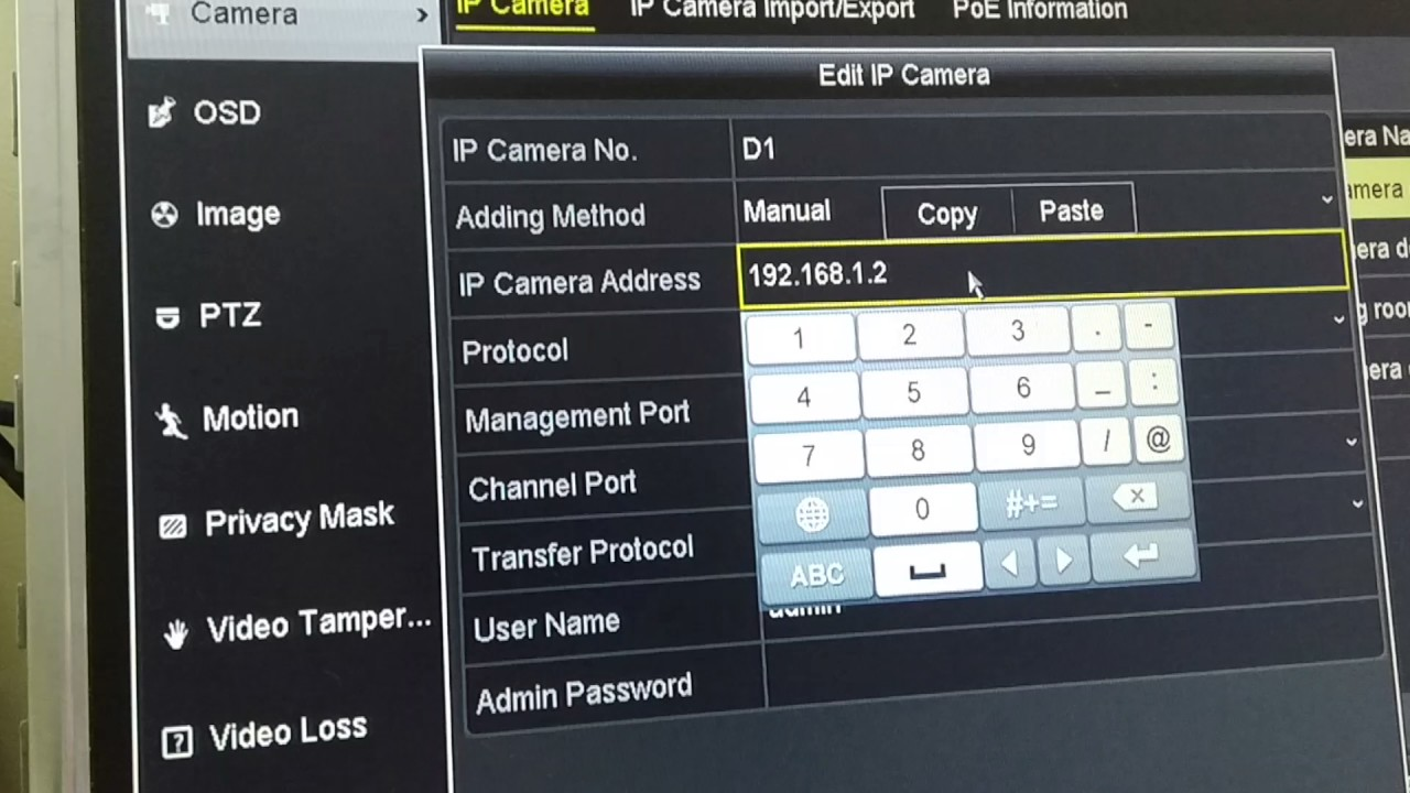 solution to HikVision LaView NVR error: no more IP camera allowed