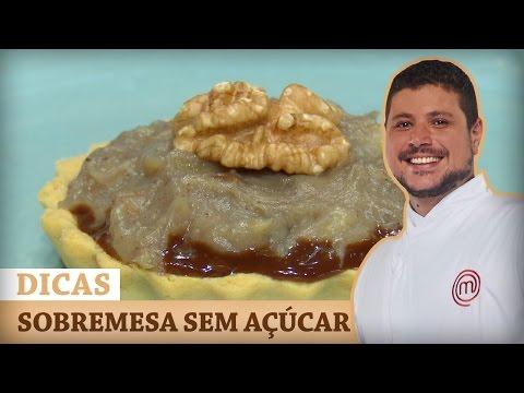TORTA DE CHOCOLATE CROCANTE E BANANA (SEM AÇÚCAR) Com Raul | DICAS MASTERCHEF