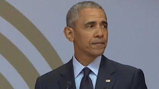 "Video Obama references ""strange, uncertain times"" in speech commemorating Nelson Mandela's birthday download MP3, 3GP, MP4, WEBM, AVI, FLV Juli 2018"