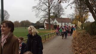 Bromsgrove School - Prep and Pre-Prep pupils ramble for BBC Children in Need (November 2018)