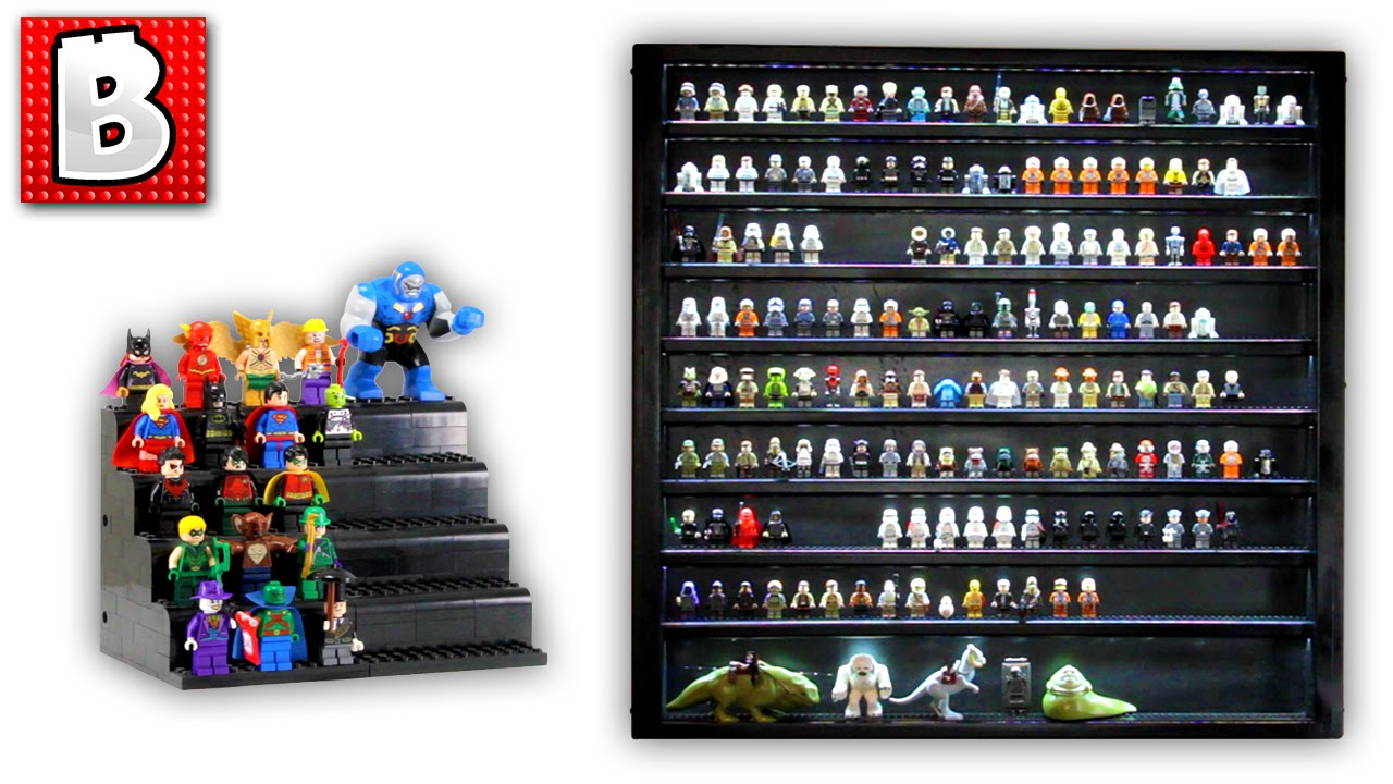 How To Display Your Lego Minifigures Epic Star Wars