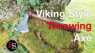 How To Make A Viking Inspired Throwing Axe (From An Old  Axe) / DIY