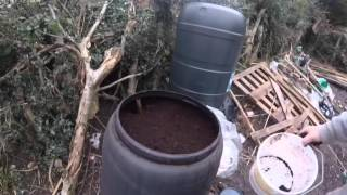 Ep9 Allotment update, digging , composting & coffee grounds also getting ready for spring