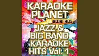 I Will Drink the Wine (Live) (Karaoke Version) (Originally Performed By Frank Sinatra)