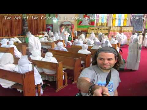 Inside the most important Ethiopian Church: Mary of Zion