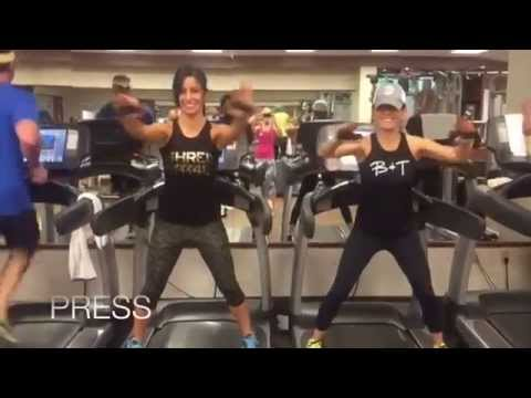 Palm Springs Pump Up Weekend Workout—Cardio + Resistance Training All On the Treadmill!