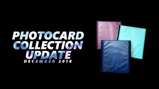 K-Pop Photocard Collection Update   December 2018