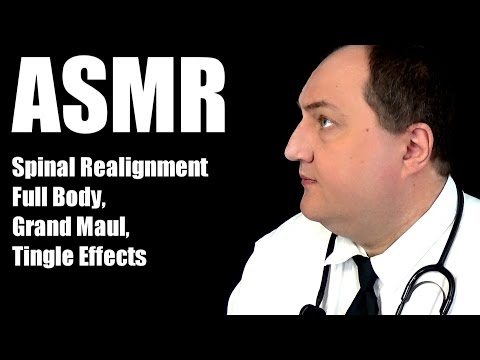 ASMR SPINAL ALIGNMENT PROCEDURE