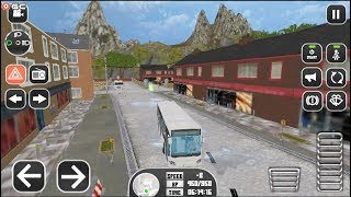 Bus Driver Academy 3D - Mountain Bus Driving - Android gameplay FHD #2