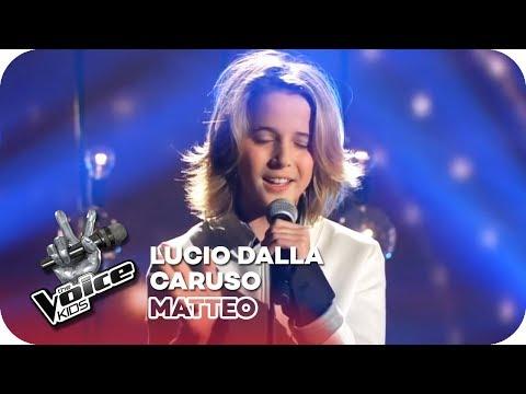 Lucio Dalla  Caruso Matteo  Finale  The Voice Kids 2016  SAT1