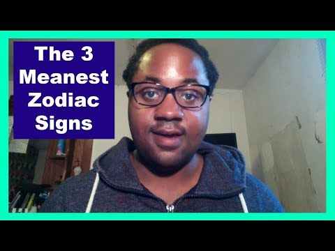 The 3 MEANEST Zodiac Signs [Man & Woman] [Mean Zodiac