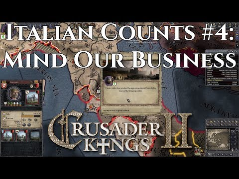 Italian Counts -  Mind Our Own Business | CK2 Coop
