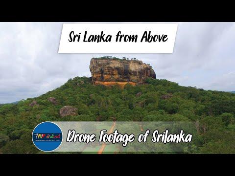 කුරුල්ලෙක්ට  ලංකාව පේන හැටි  - aerial view of Sri Lanka within 4 mins by Trip Pisso