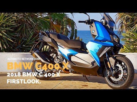 2018 BMW C400X | Design & Riding Impressions.