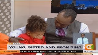 Girls break into tears live on TV over question about absent fathers  JKLive