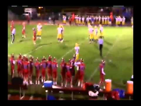 Football:  Evanston vs Sheridan High School 9/13/13