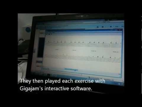 Gigajam CPD Training for Music Teachers -- Teaching with technology.wmv