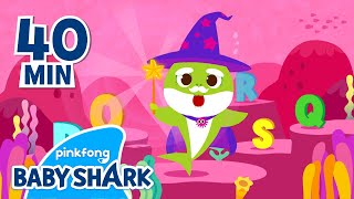 Homeschooling with Baby Shark | Learn ABC | +Compilation | Stay home with Baby Shark