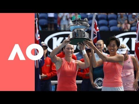 Women's doubles trophy presentation (F) | Australian Open 2019 Mp3
