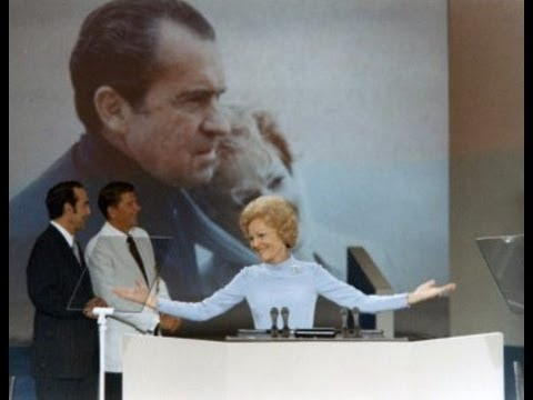 First Lady Pat Nixon Addresses the GOP Convention