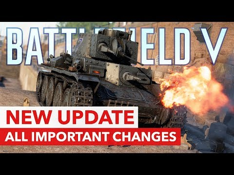 Battlefield V: New Patch with New Tank, Footsteps, Panzerstorm Improvements & More thumbnail
