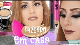 Fazendo produtos de maquiagem em CASA – Sem gastar nada