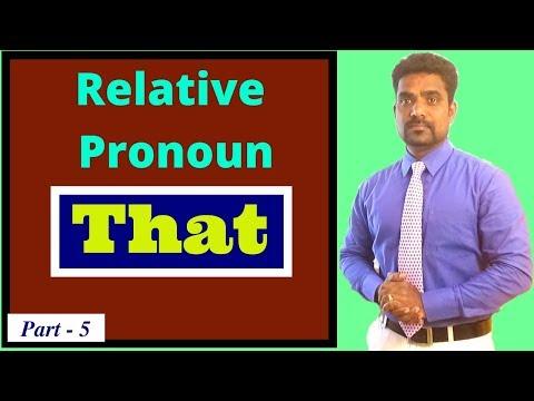 RELATIVE PRONOUN IN TAMIL   SPOKEN ENGLISH IN TAMIL   LEARN ENGLISH THROUGH TAMIL