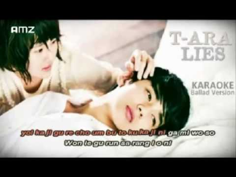 Lies_ T-ara Sing Along (Karaoke)