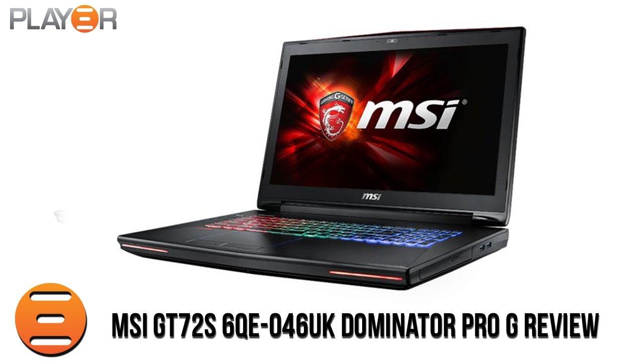MSI GT72S 6QE Dominator Pro G Mac