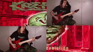 Kreator  - Reconquering the Throne (Guitar Cover)