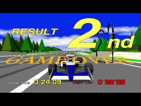 [HD] SEGA Virtua Racing V.R. 8Races BIGINNER MIDIUM 1080p 60fps