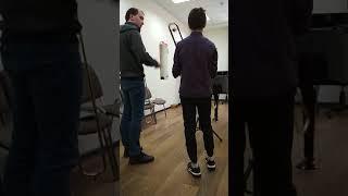 Урок сына в музыкальной школе -3