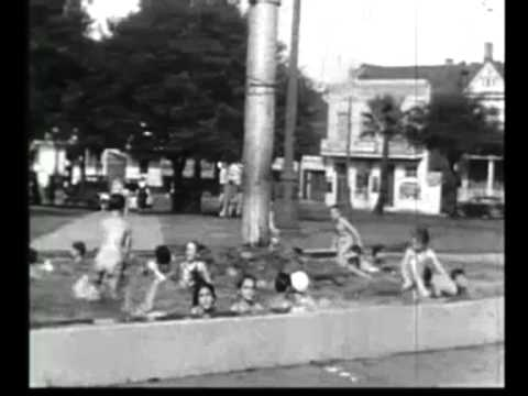 New Orleans   Kids In Public Pool Circa 1930's