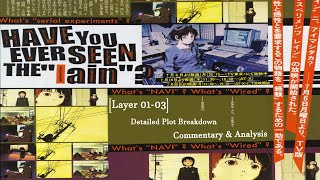 Serial Experiments Lain Explained! [Layer 01-03]