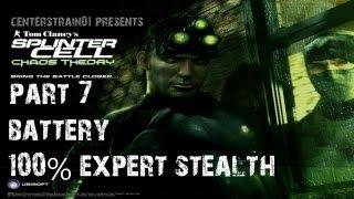 Splinter Cell: Chaos Theory - Stealth Walkthrough - Part 7 - Battery