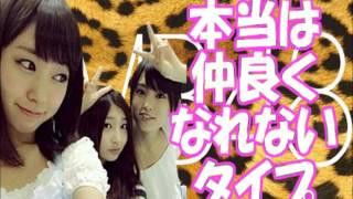 2015年11月24日 NMB48のTEPPENラジオ 渡辺美優紀 岸野里香 NMB48 画像:...