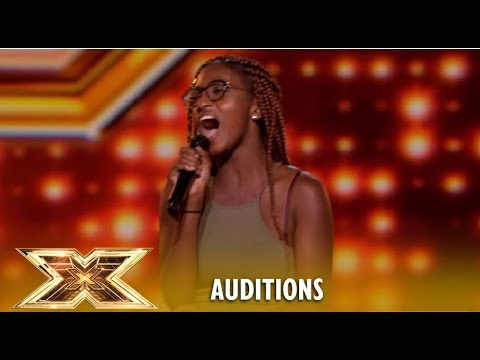 Lanya Matthews: She麓s Only 17 But When She Opens Her Mouth...馃槺OMG! | The X Factor UK 2018