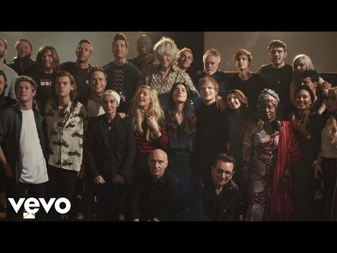 Band Aid 30  Do They Know It's Christmas? 2014