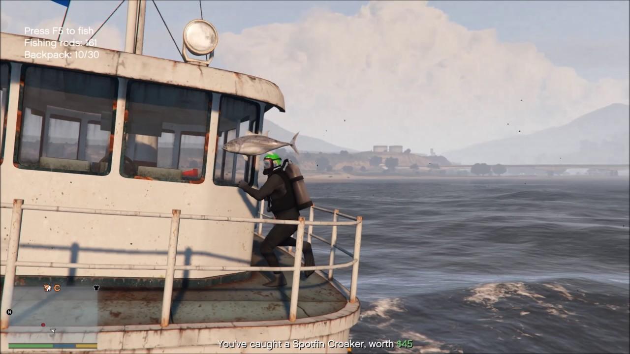bateau de peche gta 5